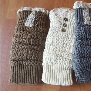 Accessories - FINAL PRICE  Mocha boot socks one size fits all